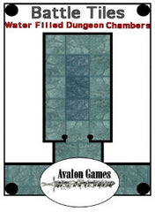Battle Tiles, Water Filled Dungeon Chambers PDF