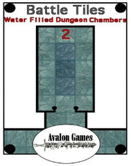 Battle Tiles, Water Filled Dungeon Chambers 2 PDF