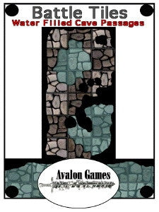 Battle Tiles, Water Filled Cave Passages PDF
