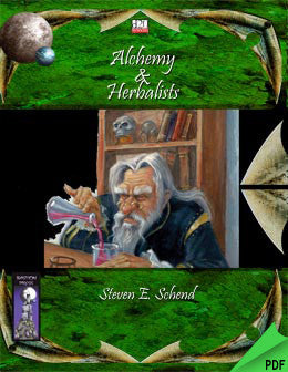Alchemy & Herbalists (d20) PDF