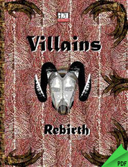 Villains: Rebirth (d20) PDF