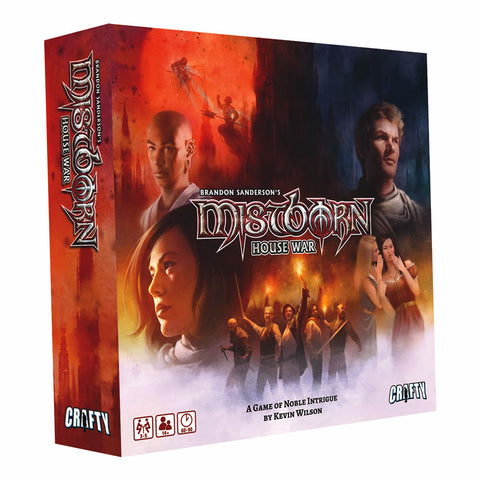 Mistborn House War Boardgame