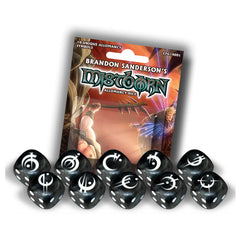 Mistborn Allomancy Dice (10)