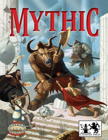 Mythic (Savage Worlds) PDF
