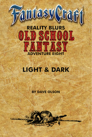 Old School Fantasy #8: Light & Dark (FC) PDF