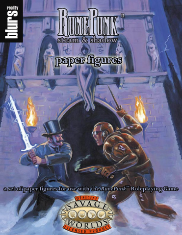 RunePunk: Paper Figures (Savage Worlds) PDF