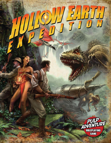 Hollow Earth Expedition (6x9, softcover)