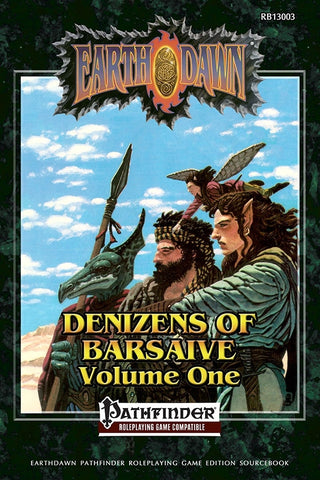 Earthdawn: Denizens of Barsaive Volume One (Pathfinder)