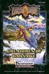 Earthdawn: Creatures of Barsaive (Pathfinder)