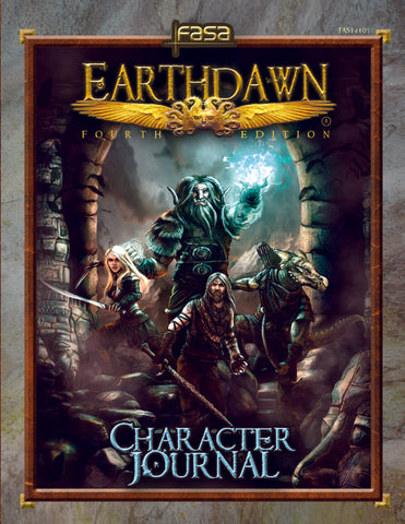 Earthdawn: Character Journal