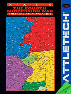 Battletech: NAIS The Fourth Succession War Military Atlas Vol. 2 PDF
