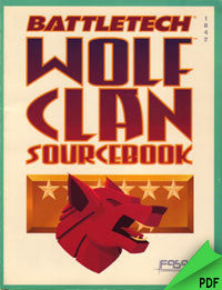 Battletech: Wolf Clan Sourcebook PDF