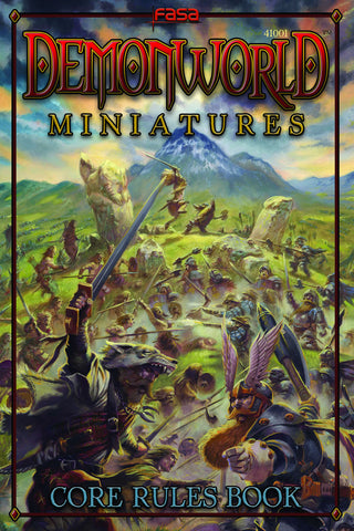 Demonworld Miniatures Core Rulebook