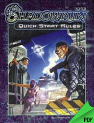 Shadowrun: Quick Start Rules PDF