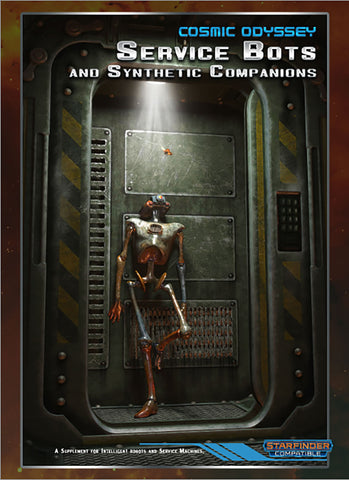 Cosmic Odyssey: Service Bots and Synthetic Companions