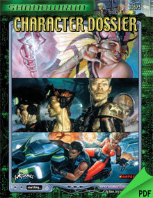 Shadowrun: Character Dossier PDF