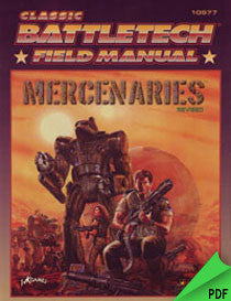 Battletech: Field Manual: Mercenaries, Revised PDF