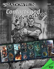 Shadowrun Fourth Edition Gamemaster's Screen & Contacts PDF