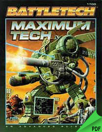 Battletech: Maximum Tech Revised Edition PDF