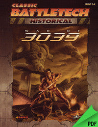 Battletech: Historical: War of 3039 PDF