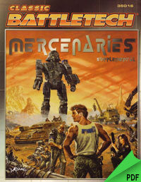 Battletech: Mercenaries Supplemental I PDF