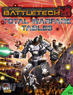 Total Warfare Charts & Tables PDF