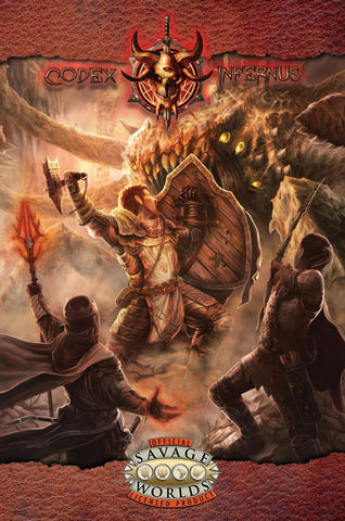 Codex Infernus: The Savage Guide to Hell (Hardcover, Savage Worlds)