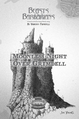 Moonless Night Over Grimdell PDF (Savage Worlds)