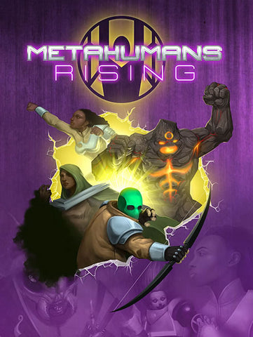 Metahumans Rising Book - PRE-Order + FREE PDF