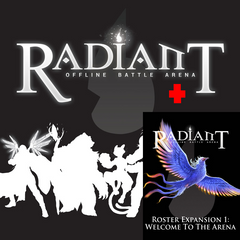 Radiant Offline Battle Arena - Core Set & Expansion Bundle