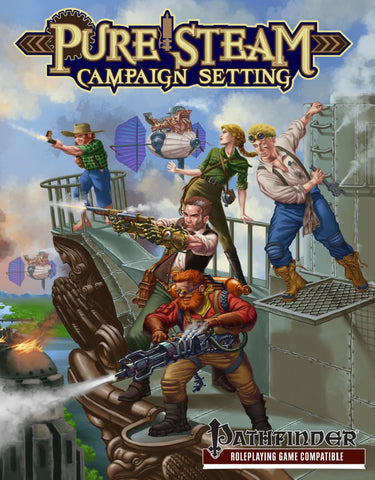 Pure Steam Campaign Setting (Pathfinder)