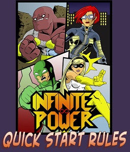 Infinite Power RPG Quick Start Rules PDF