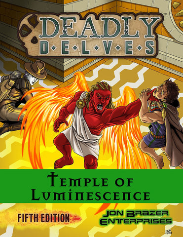 Deadly Delves: Temple of Luminescence 5e Adventure