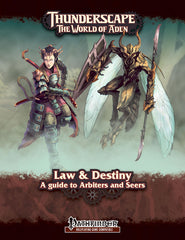 Thunderscape: Class Guide 3 - Law & Destiny: A Guide to Arbiters & Seers PF