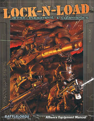 Battlelords of the 23rd Century: Lock 'N' Load: Armor, Equipment, & Cybernetics PDF