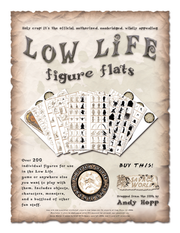 Low Life Figure Flats PDF (Savage Worlds)