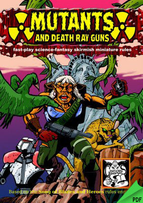 Mutants and Death Ray Guns PDF