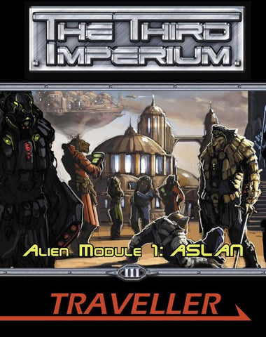 Traveller: The Third Imperium: Alien Module 1: Aslan