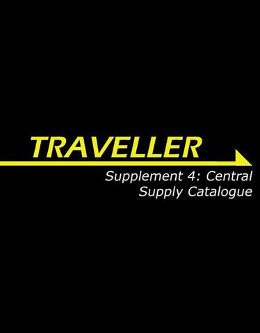 Traveller: Supplement 4: Central Supply Catalogue