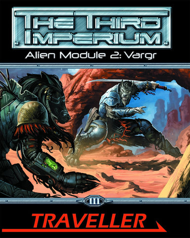 Traveller: The Third Imperium: Alien Module 2: Vargr