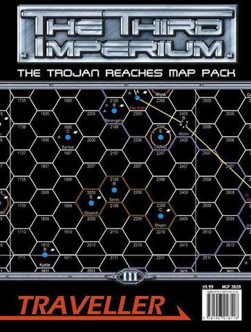 Traveller: The Third Imperium: The Trojan Reaches Map Pack