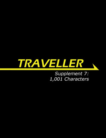 Traveller: Supplement 7: 1,001 Characters