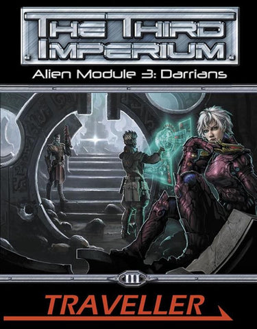 Traveller: The Third Imperium: Alien Module 3: Darrians