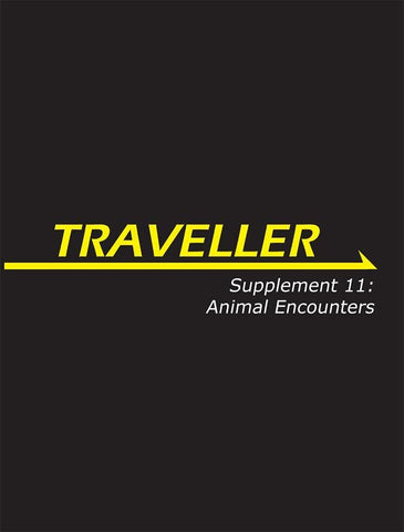 Traveller: Supplement 11: Animal Encounters