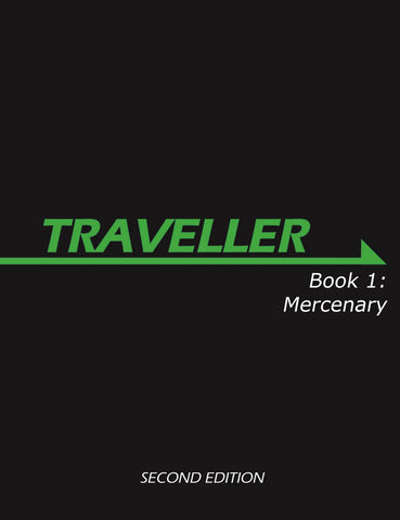 Traveller: Book 1: Mercenary (Second Edition)
