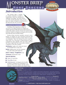 Monster Brief: More Dragons PDF
