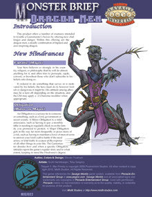 Monster Brief: Dragon Men PDF