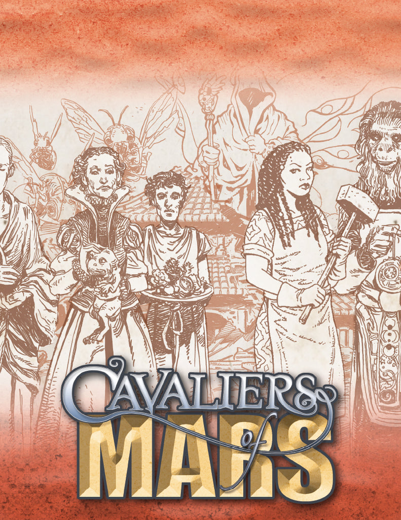 Cavaliers of Mars GM Screen | Studio 2 Publishing