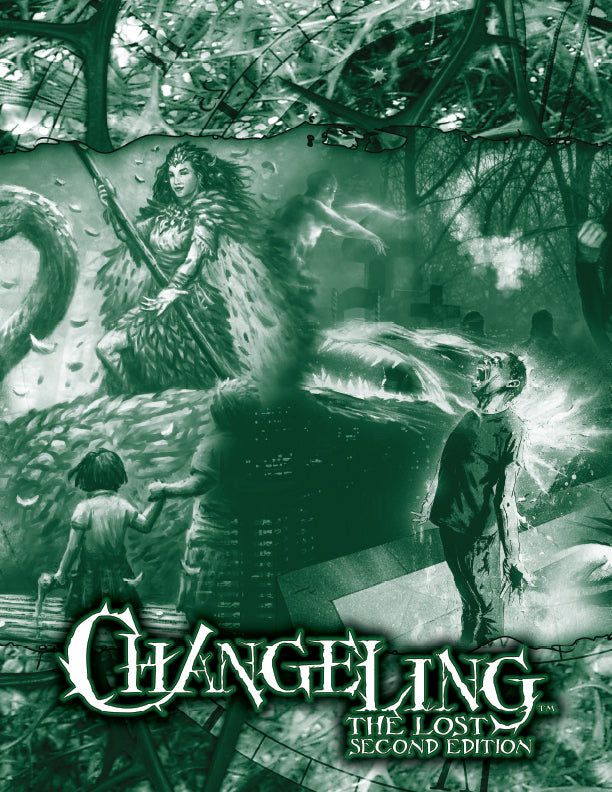 Changeling: The Lost 2nd Edition GM Screen | Studio 2 Publishing