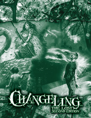 Changeling: The Lost 2nd Edition GM Screen